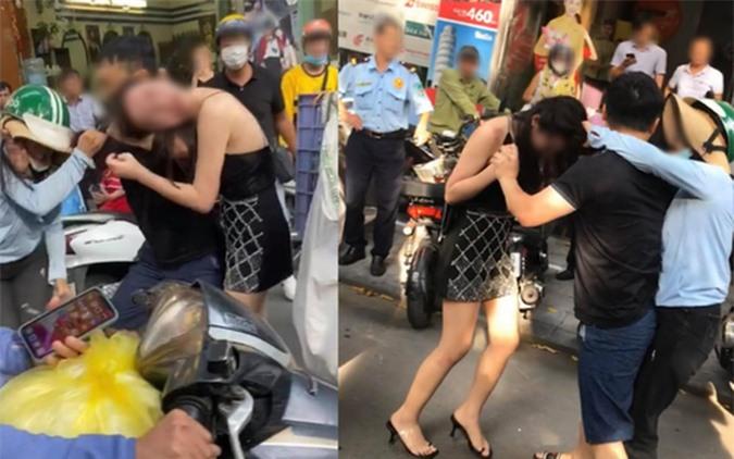 Cô gái đi xe sang LX570 bị đánh ghen trên phố: 3 người đều sai và rất dại dột - Ảnh 1.