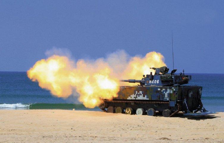 Hải quân Hoàng gia Thái Lan sẽ mua xe tăng lội nước VN-16 từ Trung Quốc. Ảnh: Janes Defense.