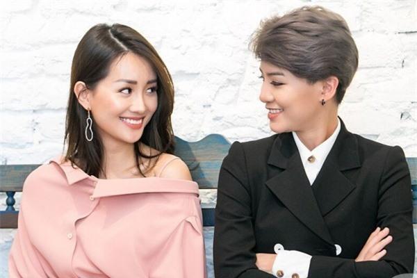MC Quỳnh Chi và MC Thùy Dung.