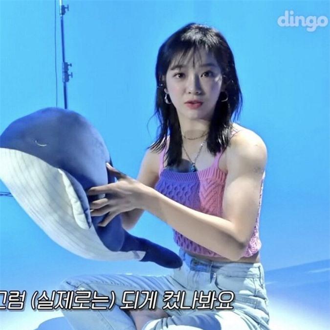 Những nữ idol Kpop có gương mặt ngây thơ nhưng body cơ bắp, lực lưỡng như nam giới - Ảnh 7