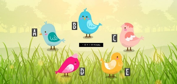 Bạn chọn con chim nào?