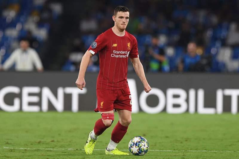 2. Andrew Robertson (Liverpool - Định giá chuyển nhượng: 64 triệu euro).
