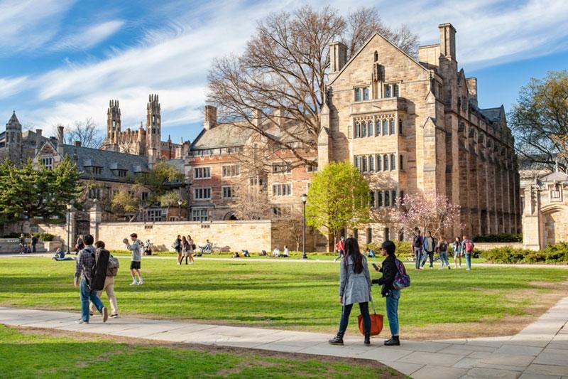 8. Đại học Yale, Mỹ.