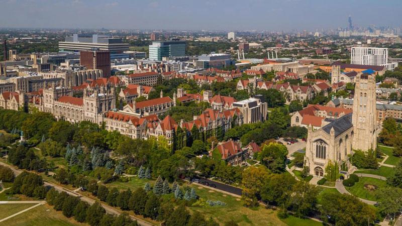 9. Đại học Chicago, Mỹ.