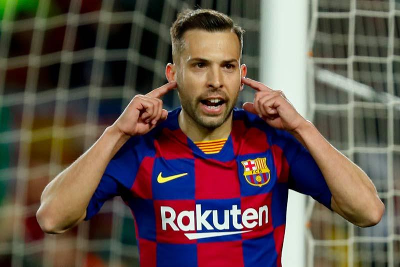 =5. Jordi Alba (Barcelona - Định giá chuyển nhượng: 40 triệu euro).