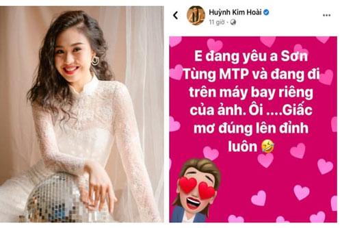 Lê Lộc lên Facebook tỏ tình với Sơn Tùng M-TP, lập tức bị 2 đồng nghiệp 'dội gáo nước lạnh'