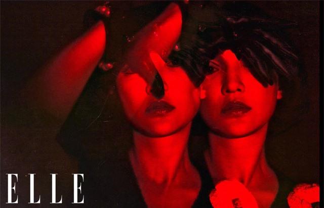 Châu Tấn biến hóa kỳ ảo trên ấn phẩm đặc biệt của Elle - Ảnh 13.