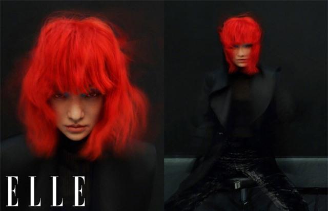 Châu Tấn biến hóa kỳ ảo trên ấn phẩm đặc biệt của Elle - Ảnh 16.