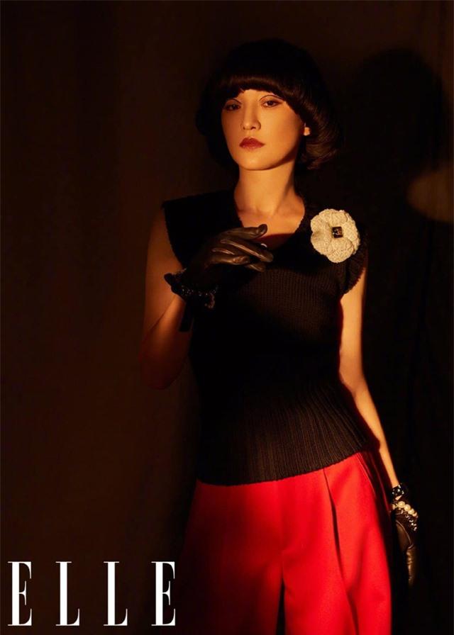 Châu Tấn biến hóa kỳ ảo trên ấn phẩm đặc biệt của Elle - Ảnh 20.