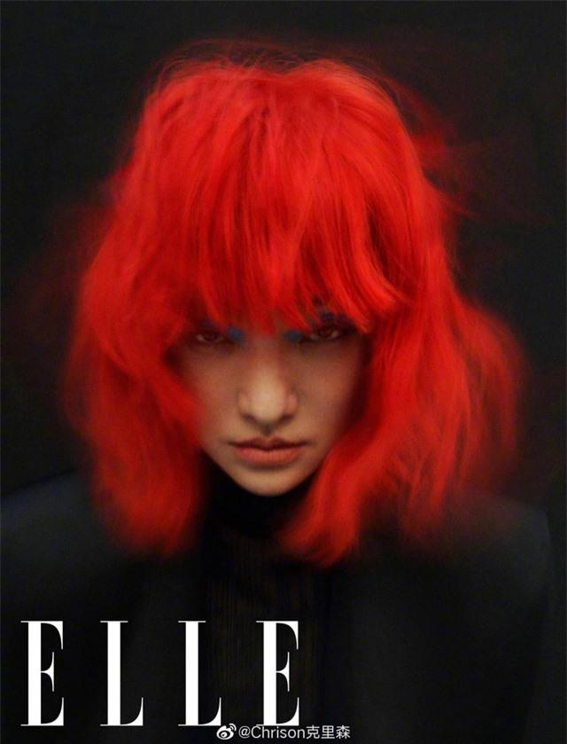Châu Tấn biến hóa kỳ ảo trên ấn phẩm đặc biệt của Elle - Ảnh 23.