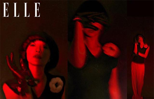 Châu Tấn biến hóa kỳ ảo trên ấn phẩm đặc biệt của Elle - Ảnh 25.