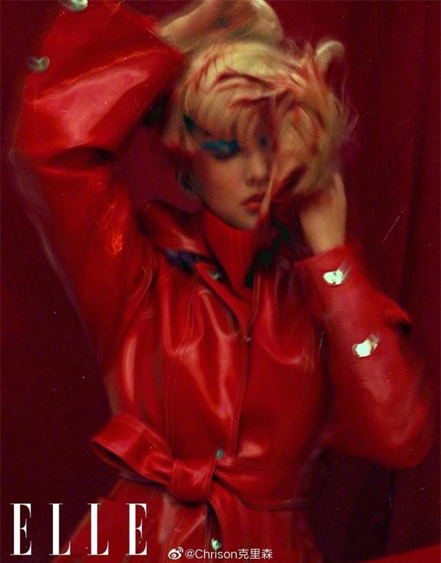 Châu Tấn biến hóa kỳ ảo trên ấn phẩm đặc biệt của Elle - Ảnh 26.