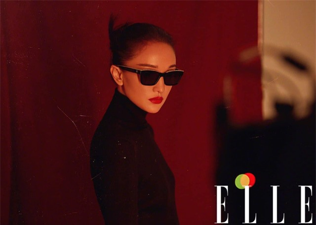 Châu Tấn biến hóa kỳ ảo trên ấn phẩm đặc biệt của Elle - Ảnh 4.