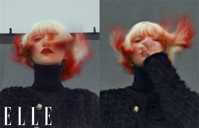 Châu Tấn biến hóa kỳ ảo trên ấn phẩm đặc biệt của Elle - Ảnh 5.
