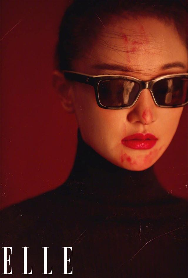 Châu Tấn biến hóa kỳ ảo trên ấn phẩm đặc biệt của Elle - Ảnh 6.