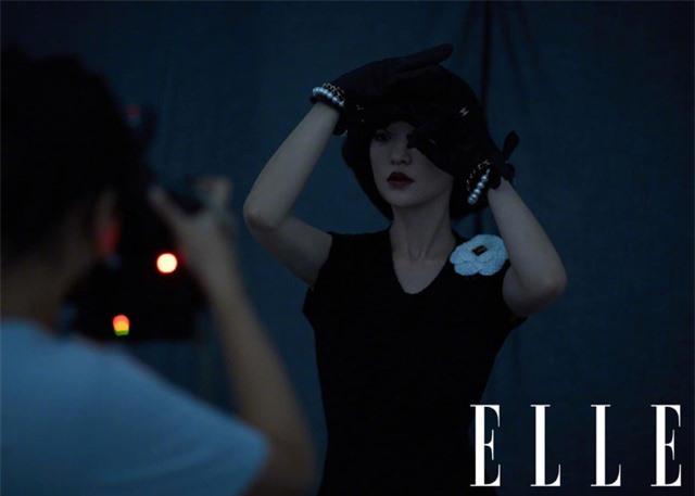 Châu Tấn biến hóa kỳ ảo trên ấn phẩm đặc biệt của Elle - Ảnh 7.