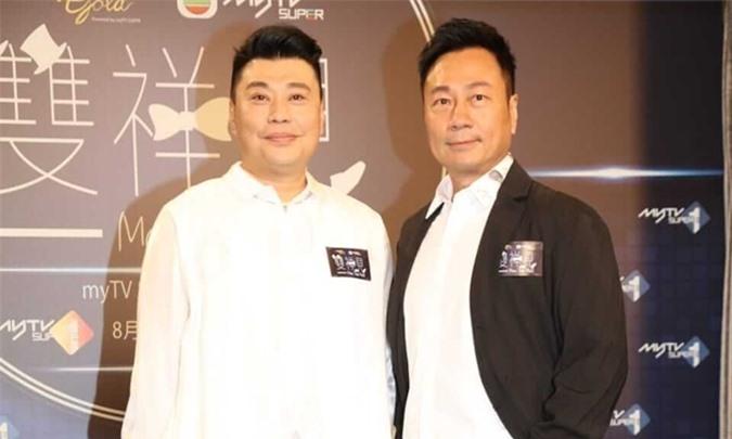Lê Diệu Tường (phải) và Nguyễn Triệu Tường dẫn chung một show giải trí của TVB.