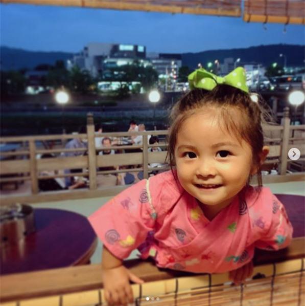 Hình ảnh hiện tại của Chanco. Cô bé được gần 3 tuổi.