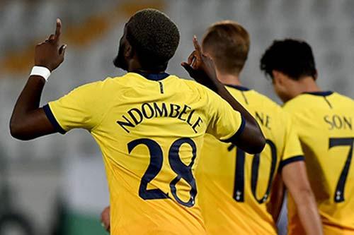 Mourinho 'yêu lại từ đầu' với Ndombele