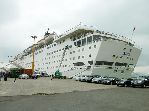 Tàu du lịch biển quốc tế cập cảng Tiên Sa, Đà Nẵng