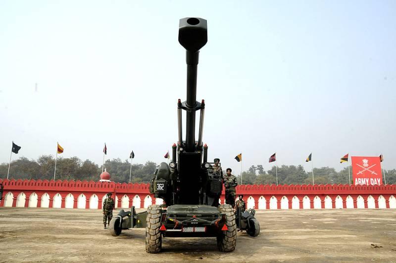 Lựu pháo nòng dài FH77 Bofors 155 mm của Quân đội Ấn Độ. Ảnh: Topwar.