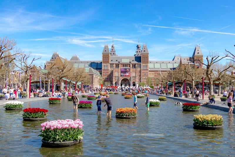 10. Amsterdam (Hà Lan).