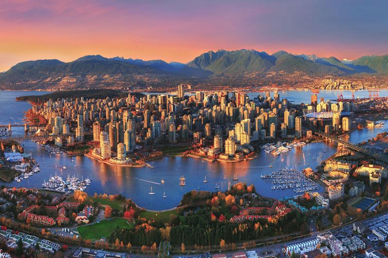 2. Vancouver (Canada).