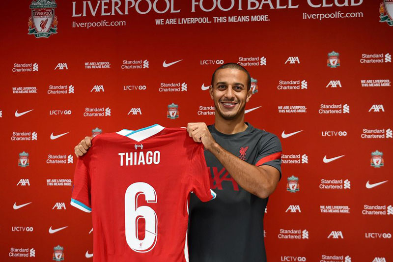 Chuyển nhượng: Liverpool CHÍNH THỨC chiêu mộ Thiago Alcantara với giá 'rẻ bèo'