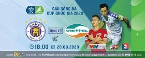Xem trực tiếp Chung kết Cúp Quốc gia 2020 trên kênh nào?