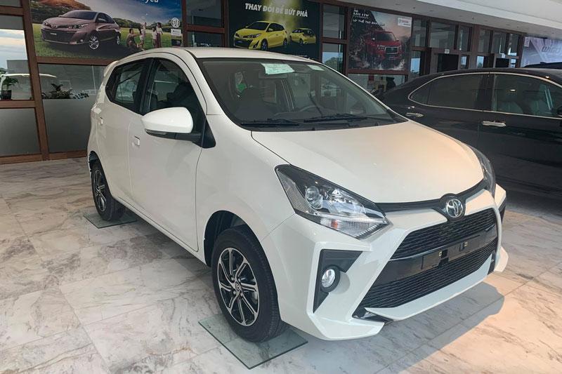 Toyota Wigo 2020. Ảnh: Toyota Thanh Xuân.