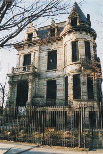 Ngôi nhà bị ma ám này toạn lạc trên đường đường Franklin, thành phố Cleveland, Ohio, Mỹ