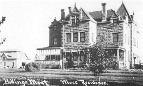 Biệt thự Moss được xây dựng từ năm 1903