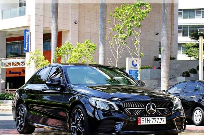 Trúng biển ngũ quý 7, Mercedes C300 tăng gấp 3 lần giá gốc, rao giá 5,5 tỷ