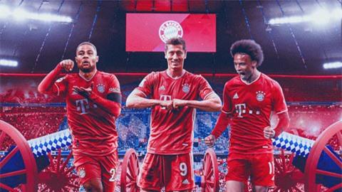Bayern đang sở hữu hàng tấn công 'khủng' nhất thế giới?