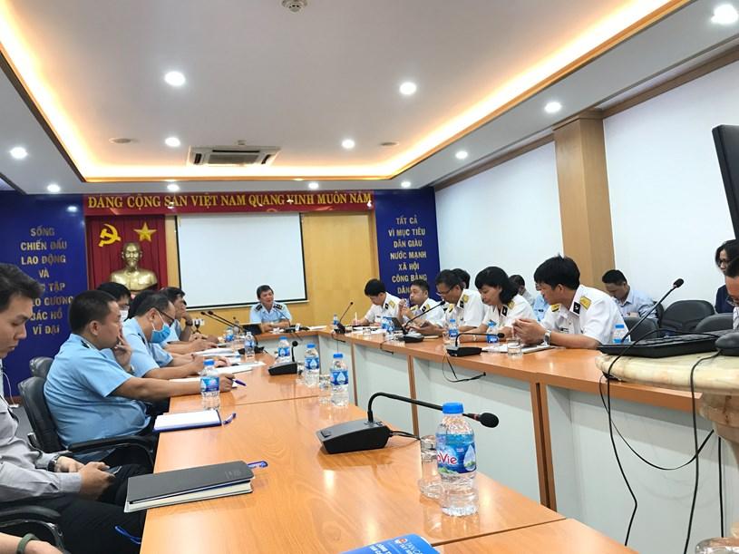 ông Nguyễn Hữu Nghiệp - Phó Cục trưởng Cục Hải quan TP.HCM cho biết, việc Chi cục Hải quan cửa khẩu cảng Sài Gòn thực hiện thủ tục hải quan đối với hàng hóa quá cảnh trong thời gian qua là đúng quy định.