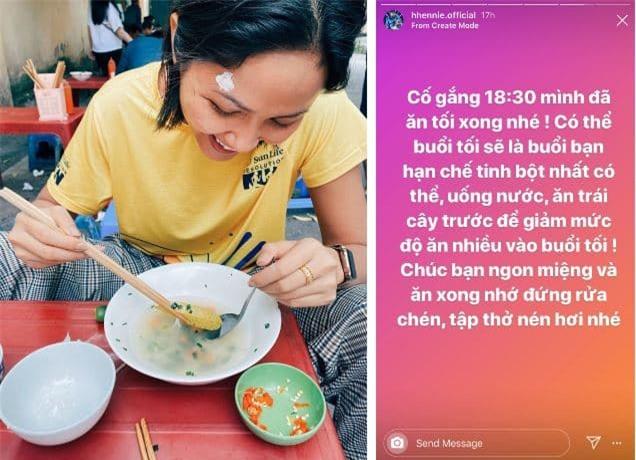 Hoa hậu H'Hen Niê giảm cân 4