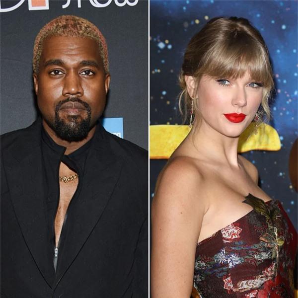 Kanye West và Taylor Swift.