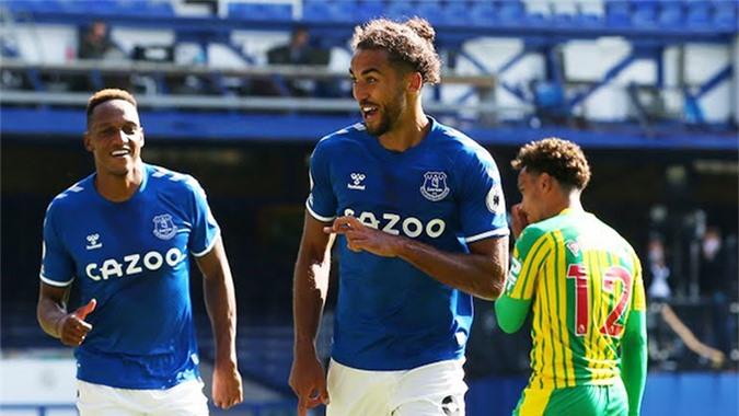 Calvert-Lewin đóng góp 1 cú hat-trick vào chiến thắng của Everton