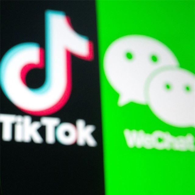Mỹ cấm người dùng tải TikTok và WeChat - Ảnh 1.