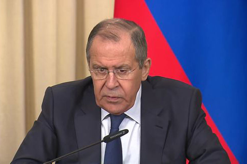 Bộ trưởng Ngoại giao Nga Sergey Lavrov lên án thỏa thuận dầu của Mỹ-người Kurd vi phạm Luật Quốc tế.