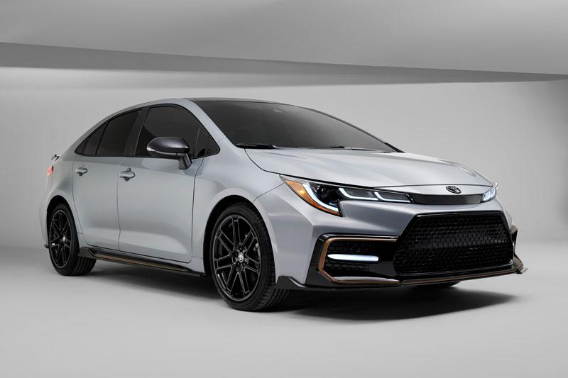 Toyota Corolla Apex Edition 2021.
