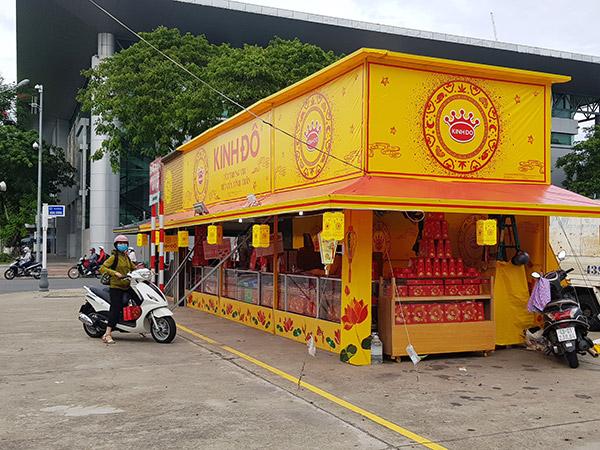 Thị trường bánh Trung thu năm nay ở Đà Nẵng trầm lắng hơn hẳn mọi năm (Ảnh: HC)