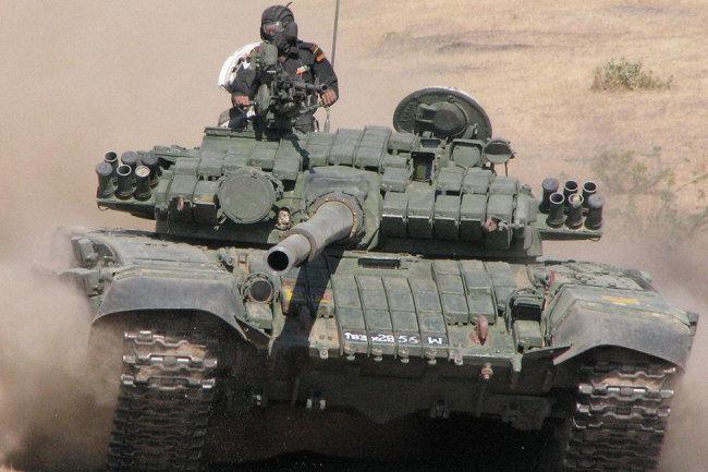 """Quân đội Ấn Độ nhận T-72M1 Ajeya MK2 với """"áo giáp"""" mới"""