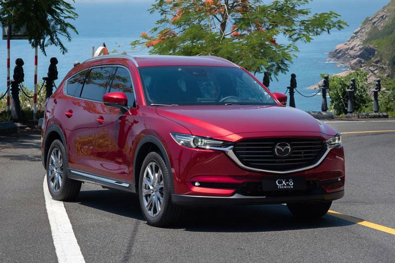 Mazda CX-8 bỏ xa Toyota Fortuner về doanh số
