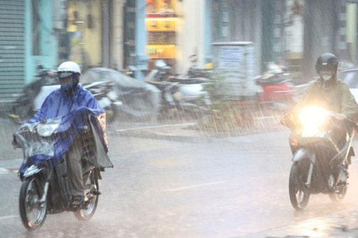 Ảnh hưởng sau bão, Bắc Trung Bộ có mưa to đến rất to