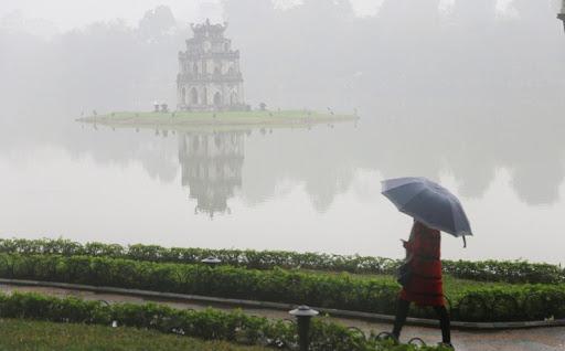 Thời tiết Hà Nội cuối tuần mưa lạnh như đầu mùa đông. Ảnh minh họa.