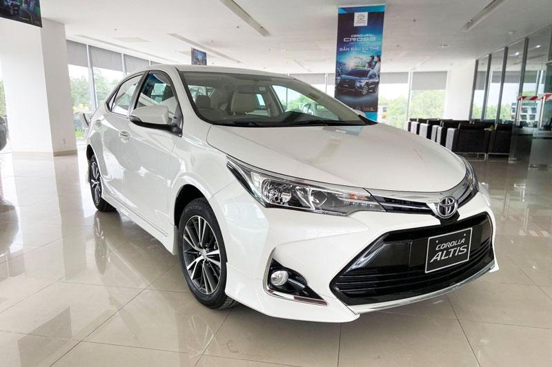 Toyota Corolla Altis 2020. Ảnh: Toyota Thanh Xuân.