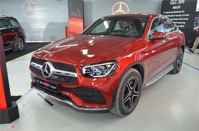Mercedes GLC Coupe.