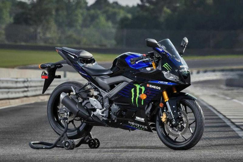 Cận cảnh Yamaha YZF-R3 Monster Energy MotoGP Edition 2021 vừa ra mắt, giá 129 triệu