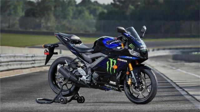 Yamaha YZF-R3 Monster Energy MotoGP Edition 2021 chính thức ra mắt - Ảnh 1.